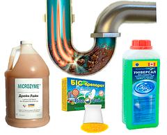 Биопрепараты для прочистки канализации