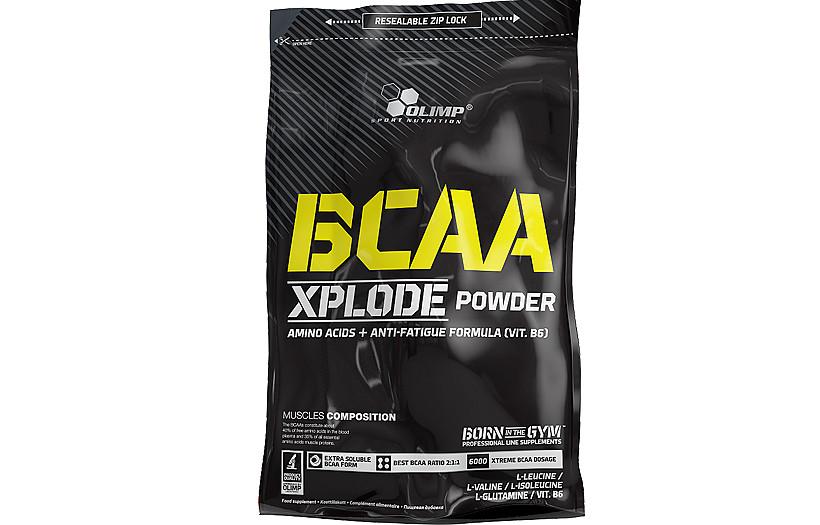 BCAA Olimp BCAA Xplode powder 1kg. (ПОЛУНИЦЯ)