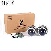 Биксеноновые линзы NHK Blue Coated Hella KH5 - лучшие ТОПовые линзы