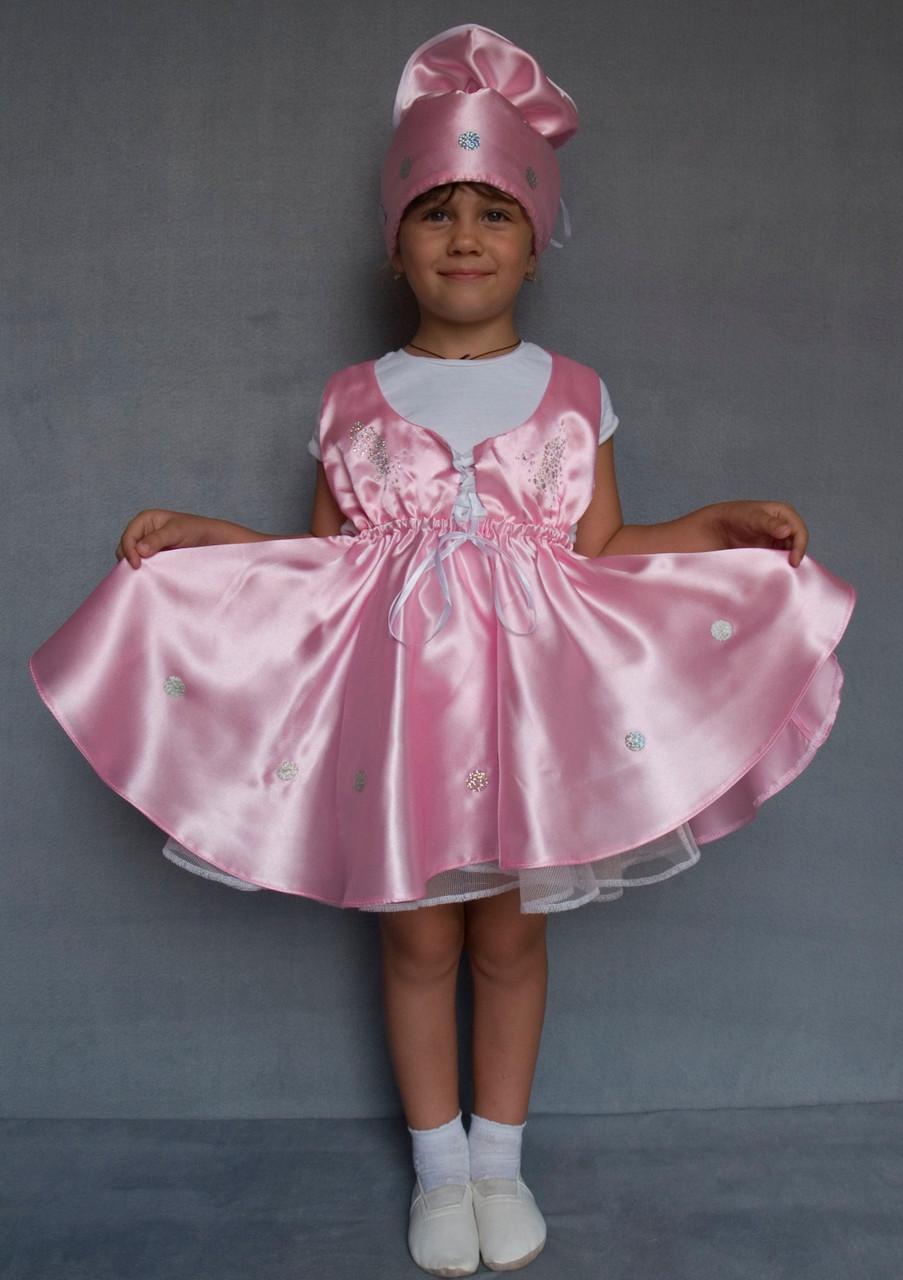 Маскарадный костюм для девочки Конфета 3-6 лет