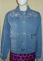Пиджак джинсовый женский Alba Moda (Италия)
