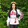Женская рубашка вышиванка Троянда  8567  ( В.О.В.)
