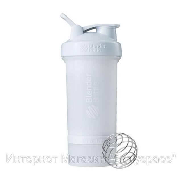 Blender Bottle, Спортивный шейкер BlenderBottle ProStak White, 650 мл