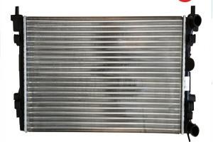 Радиатор охлаждения Citroen Jumpy 1998- (1.9D-2.0HDI) 670*446мм по сотах KEMP