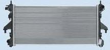 Радиатор охлаждения Citroen Jumper 2006- (2.2-3.0 механика) 780*368мм по сотах KEMP