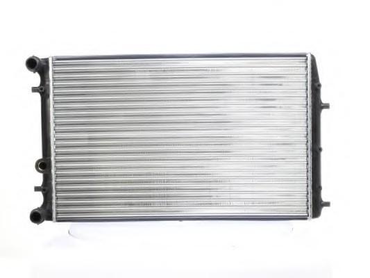 Радиатор охлаждения Volkswagen Polo (9N) (1.4 16V-2.0) 630*412мм по сотах KEMP