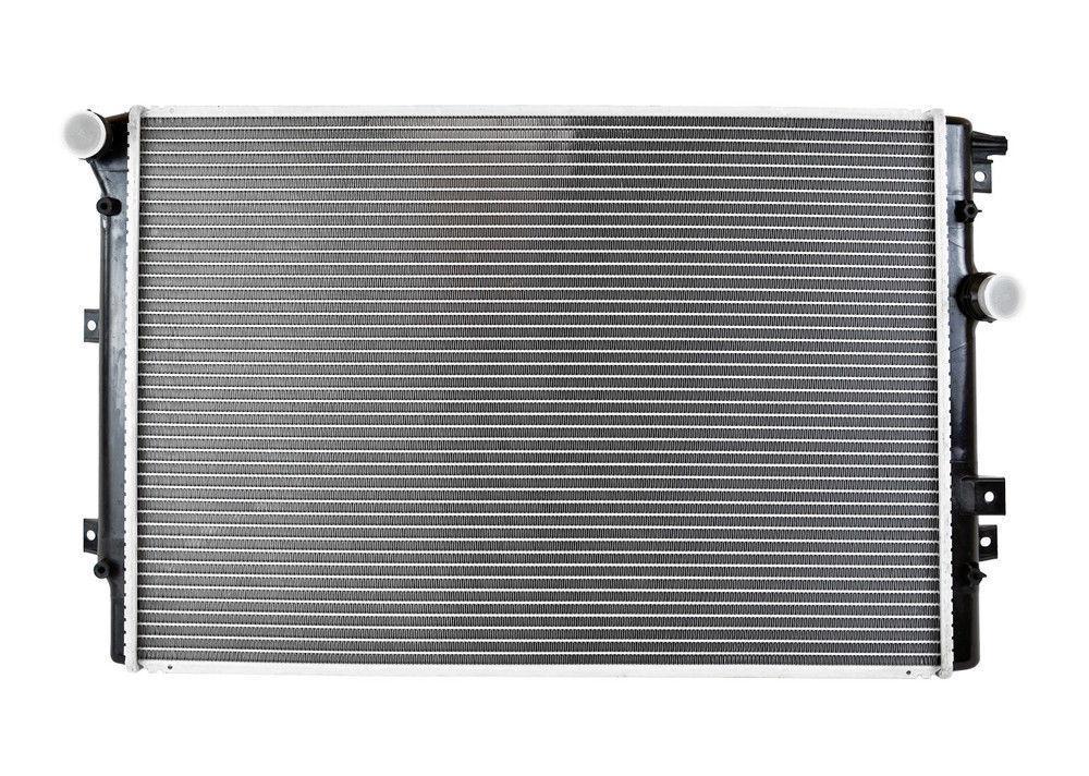 Радиатор охлаждения Seat Alhambra 2007- (1.4-1.8TSI-2.0TDI) 600*445мм по сотах KEMP