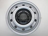 Диск колесный стальной (серый) на Рено Мастер  (6Jx16) — Renault (оригинал) 77 00 314 672