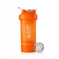 Blender Bottle, Спортивный шейкер BlenderBottle ProStak Orange, 650 мл
