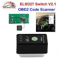 Сканер ELM327 Viecar Bluetooth V2.1 OBD2 с кнопкой On/Off