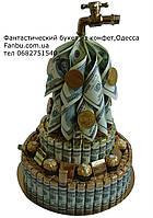 Денежная шкатулка из шоколада и конфет., фото 1