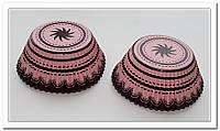 Капсула для капкейка радиал розовый 48 шт., фото 1