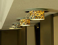 Кухонный светильник из синей фарфоровой чашки, фото 1