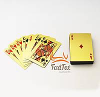 Игральные пластиковые карты Gold 54 шт