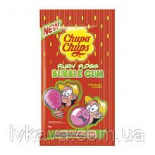 Жевательная резинка Chupa Chups Bubbly клубника  , 11 гр