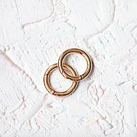 Кольцо-карабин KK01-3 (25 мм), цвет золото