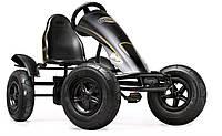 Веломобиль BERG Black Edition с 5 лет стойкая практичная с крепкой резиной модель