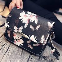 Стильная сумочка с принтом бабочек, цвета в наличии, фото 1