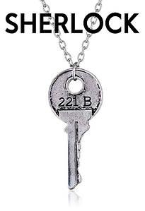 Кулон Холмс Шерлок Ключ 221B