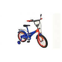 """Велосипед """"PORSCHE"""" красно-синий 16"""""""