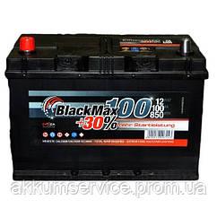 Аккумулятор автомобильный Black Max Asia 100AH R+ 850A