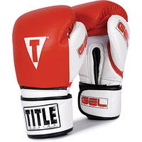 Боксерские перчатки TITLE, 14 oz