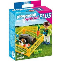 Девочка с морскими свинками (4764), Playmobil 4794