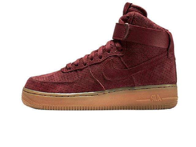 b26a57d1 Женские Кроссовки Nike Air Force 1 High Red Suede — в Категории ...