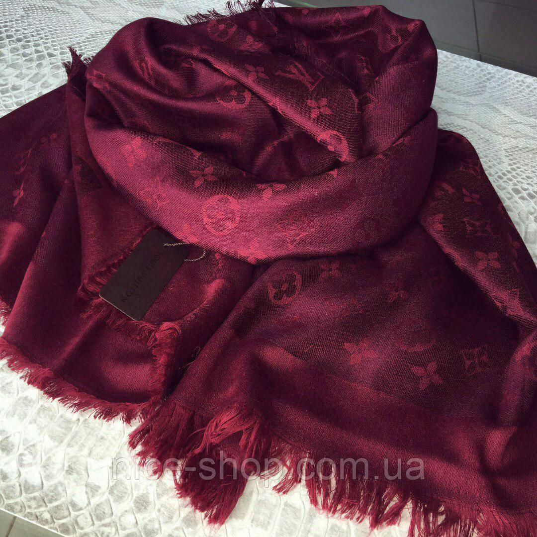 55ff7bd4986d Платок Louis Vuitton марсал  продажа, цена в Одессе. платки, шали ...