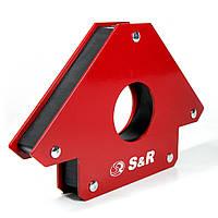 Магнитный угольник для сварки S&R 34 кг, 290101125