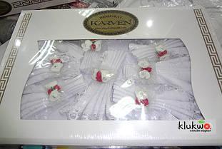 Скатерть 160 на 220 см и салфетки 8 шт Karven
