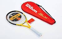 Уценка_Ракетка для большого тенниса WILSON U-BLX (дубл., цвета в ассортименте)