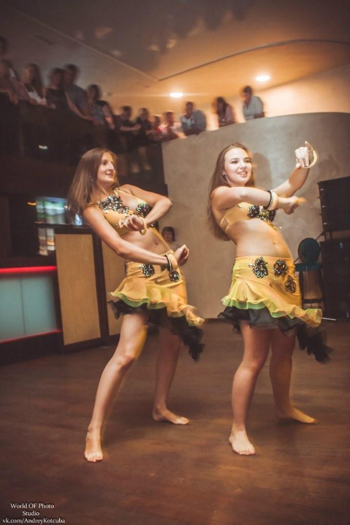 Обучение в школе восточных танцев
