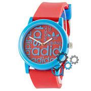 Наручные часы в стиле Adidas Silicone Blue-Red