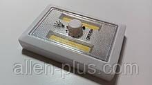 Підсвічування універсальна світлодіодна LUXEL NLB-01W (Нічник), диммер, COB 3W, 3хААА