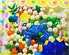 Шарики растущие в воде с синей фигуркой (SKD-0834)