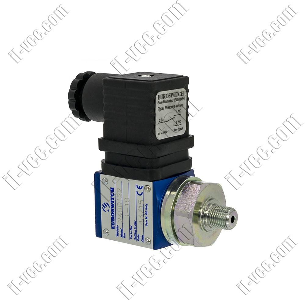 Датчик-реле давления EUROSWITCH 2400122 1-10bar 1NO/1NC 250VAC