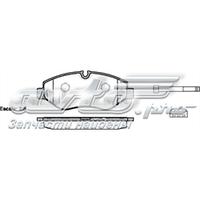 Колодки тормозные (передние) MB Sprinter (906) /Vito (W639) (Brembo)