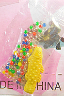 Шарики растущие в воде с желтой фигуркой (SKD-0839)