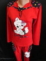 Яркие молодежные пижамы из интерлока., фото 1