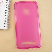 Розовый чехол для телефона Asus Zenfone 5 Бампер, фото 1