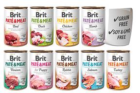 Консервы Brit Pate & Meat для собак