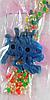 Шарики растущие в воде с синей фигуркой (SKD-0847)