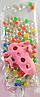 Шарики растущие в воде с розовой фигуркой (SKD-0849)
