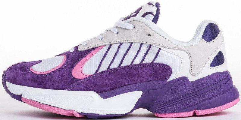 """Женские кроссовки Adidas Yung-1 """"Purple/White"""" (в стиле Адидас Янг)"""