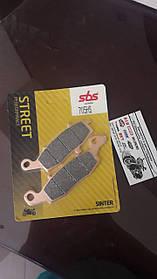 Тормозные колодки SBS 705HS передняя синтетика для KAWASAKI,SUZUKIаналог fdb2048