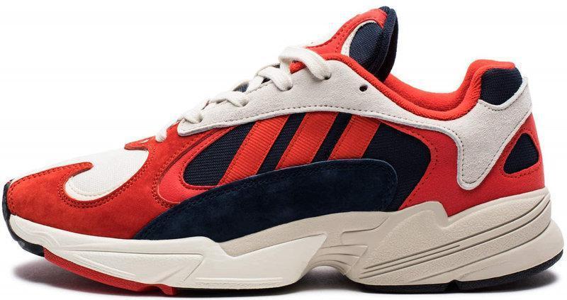 "Мужские кроссовки Adidas Yung-1 ""Red/White"" (в стиле Адидас)"