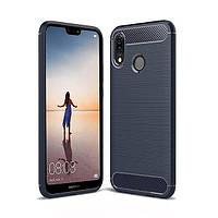 Накладка для Huawei P20 Lite TPU силикон Slim Series Синий