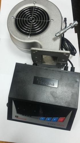 автоматика для твердопаливного котла, командоконтролер для твердопаливного котла, блок управління для твердопаливного котла, автоматизація твердопаливного котла. Модернізація твердопаливного котла.