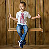 Вышивка на футболках для мальчика